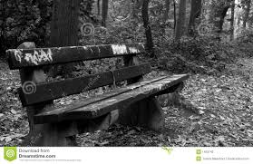 Old Park Benches Park Bench