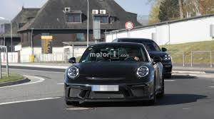camo porsche 911 do spy pics reveal porsche 911 r successor