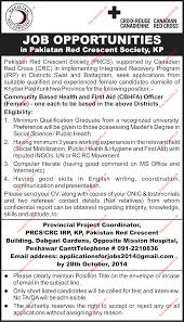 Job Description For Project Coordinator Female Community Based Health U0026 First Aid Cbhfa Officer Wanted