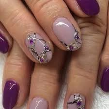 uv gel nail art designs for beautiful ladies stylepics
