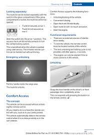 Bmw Comfort Access Key Bmw M3 2015 F80 Service Manual
