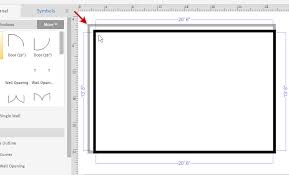 floor plans with dimensions how to draw a floor plan with smartdraw