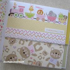 handmade photo album baby girl handmade scrapbook album design craft artwork on