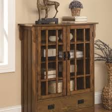 Ideas Design For Lighted Curio Cabinet Decorating Interior Design Ideas For Living Room With Brick Wall