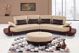 global furniture bonded leather sofa ua131 sectional sofa in bonded leather by global furniture usa