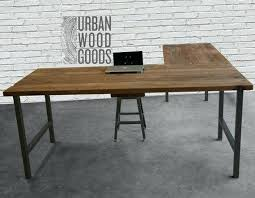 solid l shaped desk l shape wood desk nomobveto org