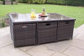 Maze Kitchen Table - garden furniture 6 seats interior design