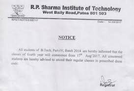 welcome to r p sharma institute technology