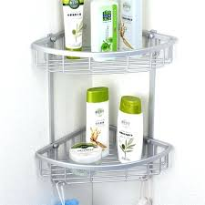 Hanging Bathroom Shelves Baskets For Bathroom Shelves Lowest Price Triangular Aluminium
