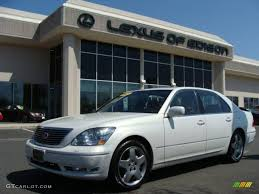 lexus ls430 wallpaper 2005 moonlight pearl lexus ls 430 sedan 7972948 gtcarlot com