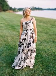 preppy chic waterfront backyard wedding bride dresses black
