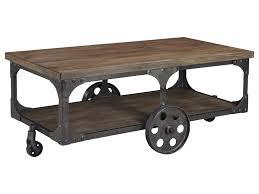 signature design by ashley vennilux factory cart style rectangular