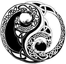 celtic yin yang dragons tattoo5400417 top tattoos ideas