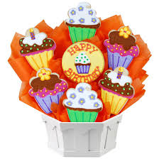 cookie basket delivery happy birthday cookie bouquet bday gift delivery cookies by design