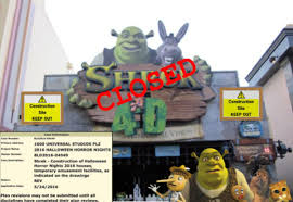 universal halloween horror nights reviews shrek theater 2 shut down for hhn27 u2013 hhn unofficial