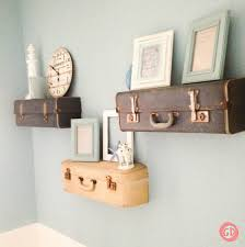 vintage on the shelf 12 ways to repurpose an suitcase