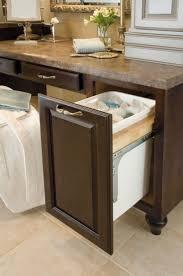kitchen trash cabinet bathroom garbage can ideas best bathroom decoration