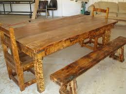 log furniture at the galleria