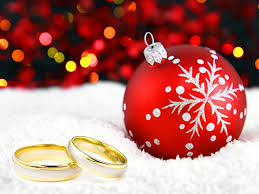 wedding rings and christmas tree ornament catholic lane