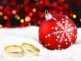 wedding rings and tree ornament catholic