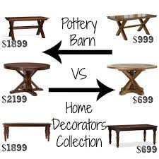 pottery barn counter height table pottery barn look alike dining tables these tables from home