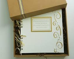 anniversary guest book gold guest book 50th anniversary guest book golden wedding