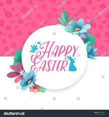 banner design template floral decoration spring stock vector