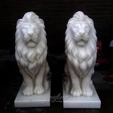 lions statues for sale marble lion statuesfoo dog statues lion statues front porch