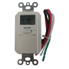 Westek Digital Residential Hardwired Timer by Utilitech Digital Timer Wiring Diagrams Ford Alternator How To
