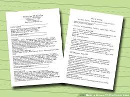 Resume English Sample by Download How To Write Cv Resume Haadyaooverbayresort Com