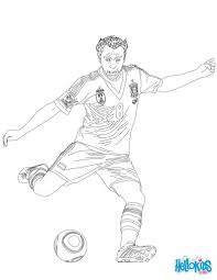 soccer players coloring pages aecost net aecost net