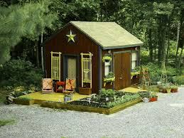 Garden Shed Decor Ideas Elegant Backyard Sheds Vogue Atlanta Traditional Garage And Shed