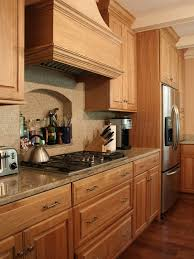 oak kitchen cabinets ideas oak cabinet houzz intended for attractive property kitchen