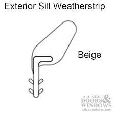 Patio Door Weatherstripping Marvin Sliding Patio Door Weatherstrip