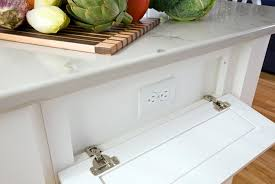 captivating kitchen island electrical outlet and under cabinet
