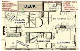 Grand Ole Opry Floor Plan Floor Plan Of The Upstairs At Graceland Elvis Pinterest