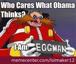 Eggman Meme - vote eggman for president by recyclebin meme center