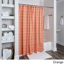 Shower Curtains Orange Orange Shower Curtains For Less Overstock Vibrant Fabric