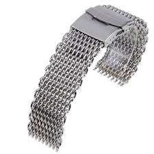 steel bracelet strap images 18 20 22 24mm replacement stainless steel mesh watch band bracelet jpg