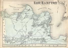 Upstate Ny Map Map Of East Hampton New York New York Map
