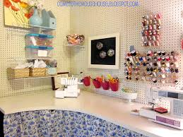 Craft Sewing Room - the basement craft room under 300 welcometothemousehouse com