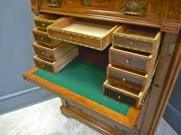 Victorian Secretary Desk by Victorian Lock Side Chest Of Drawers With Desk