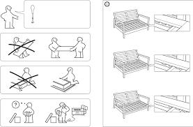 Kivik Chaise Assembly Kivik Sofa Assembly Instructions Sofa Nrtradiant