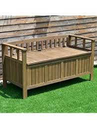 Garden Bench With Storage Outdoor Storage Benches