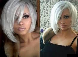 gorgeous platinum blonde bob hairstyle tousled pinterest