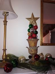 Christmas Topiaries With Lights How To Make A Christmas Topiary With Ornaments Age Of Grace