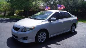 toyota corolla s 2009 for sale 2009 toyota corolla s in miramar fl auto direct of south broward