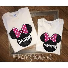 Minnie Mouse Clothes For Toddlers Minnie Mouse Mom Dad Family Birthday Shirts
