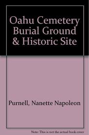 Burial Invitation Card Oahu Cemetery Burial Ground U0026 Historic Site Nanette Napoleon