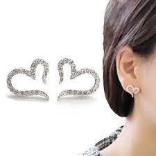 small diamond stud earrings vintage sliver plated small stud earrings imitation